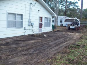 before concrete patio installation wilmington nc
