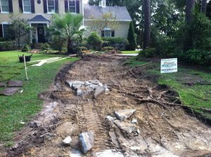 before concrete driveway contractor wilmington nc
