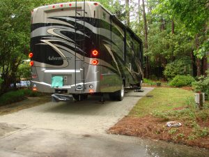 RV Parking Pad Installed Wilmington NC