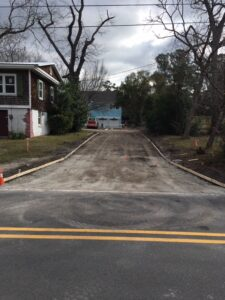 Concrete Driveway installation contractor 39th st Wilmington NC (2)