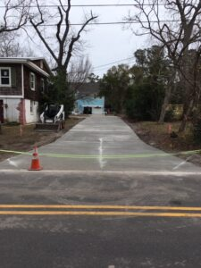 Concrete Driveway installation contractor 39th st Wilmington NC (4)