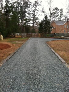 Gravel Driveway Contractor Middlesound Wilmington NC after