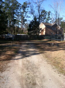 Gravel Driveway Contractor Middlesound Wilmington NC before (1)