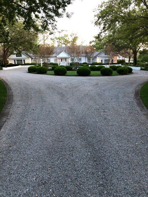 gravel driveway installation repair company wilmington nc
